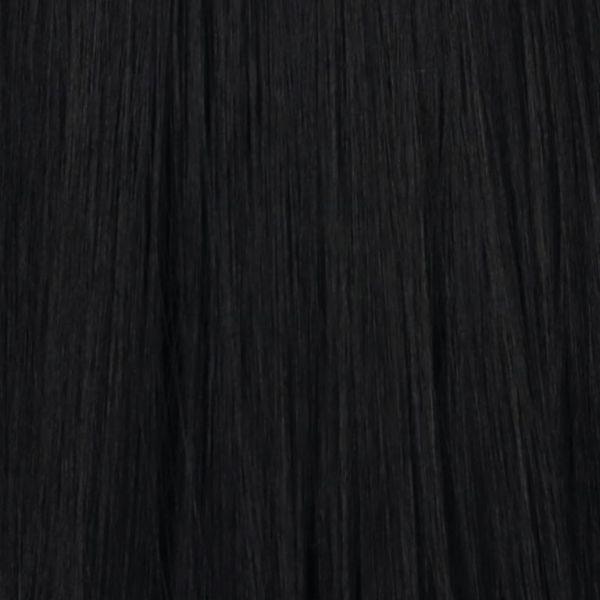 Zwart geïmplementeerd haar ( lang )